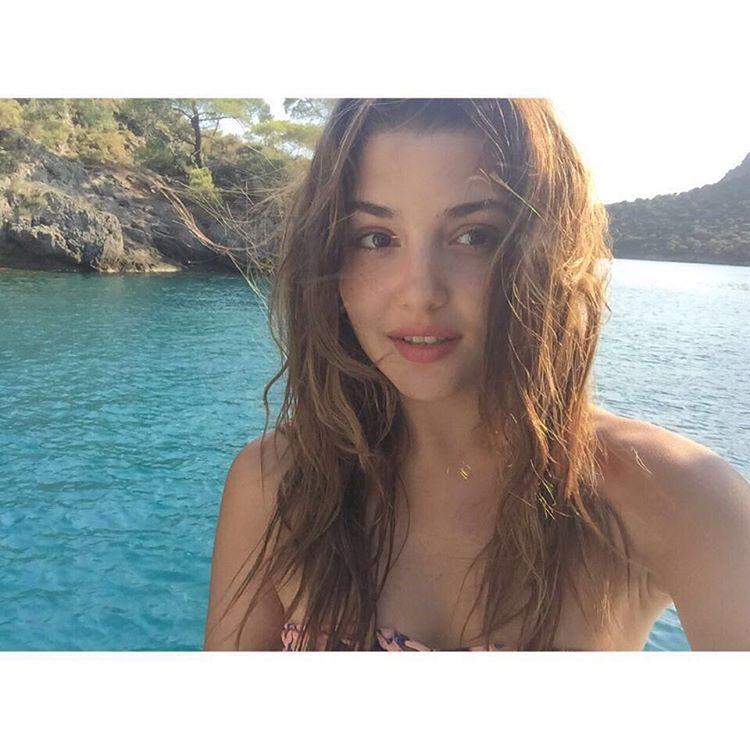 Hande Ercel Bikini Pictures
