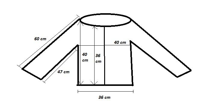 Größe S - So einfach drehst du Strickanleitungen um - aus Raglan von unten wird Raglan von oben