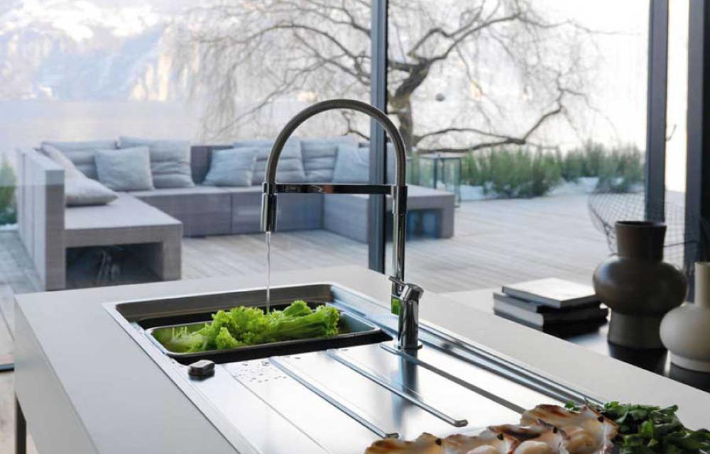 Speciale cucina come scegliere il rubinetto per il lavello