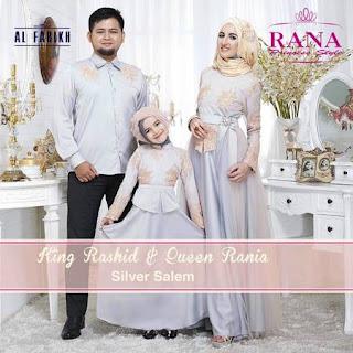 baju lebaran keluarga putih