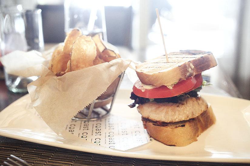 Swordfish Sandwich at Coast