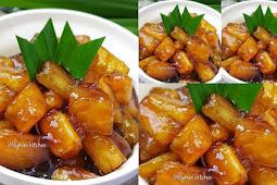 Resep Singkong Karamel. Manisnya Bikin Pingin Makan Terus