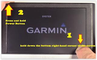 Reset Garmin Nuvi GPS