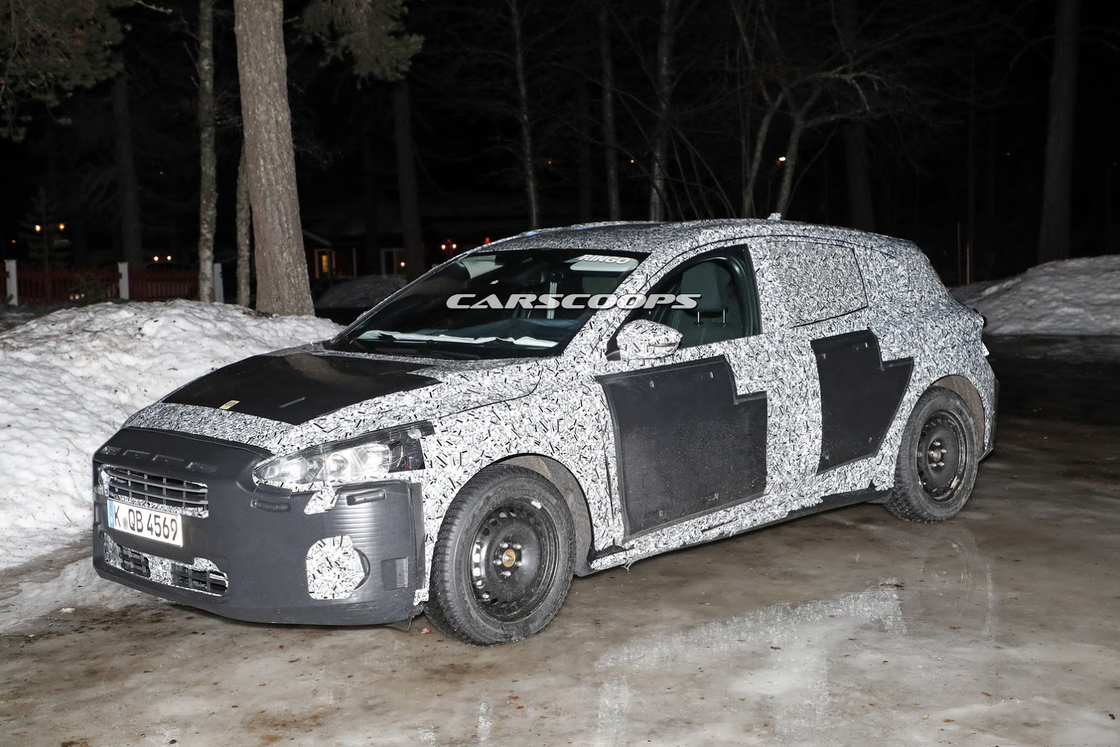 2019 Ford Focus Reveals Its Production-Spec Body | Carscoops