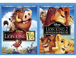 6f8fa8a935f The Lion King 1.5 and The Lion King 2 on Blu-Ray