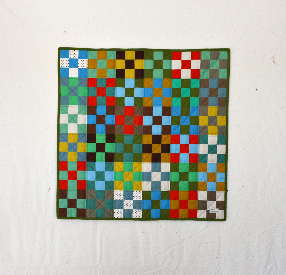 Checkerboard Nine Patch Quilt
