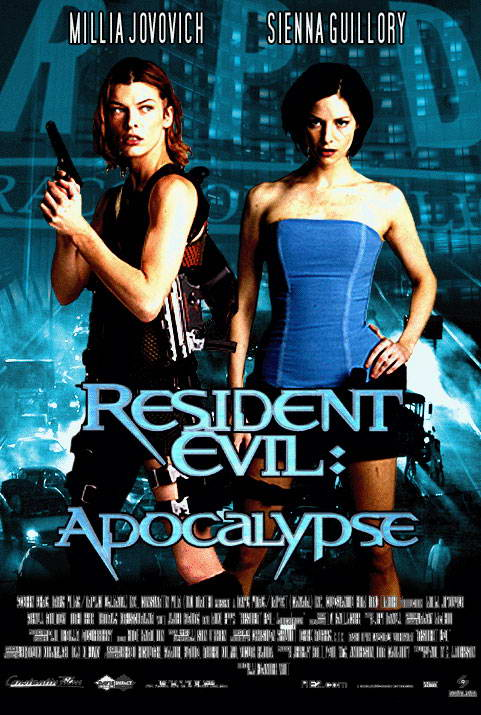 Resident Evil 2 Apocalypse 2004 movie Poster