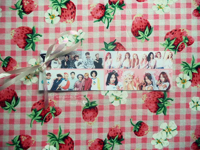 Collage kpop bookmark