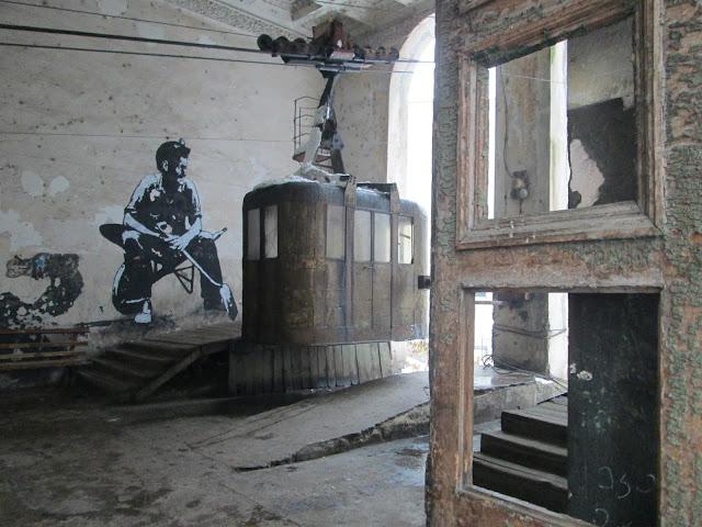 Muchos funiculares de Chiatura continúan funcionando