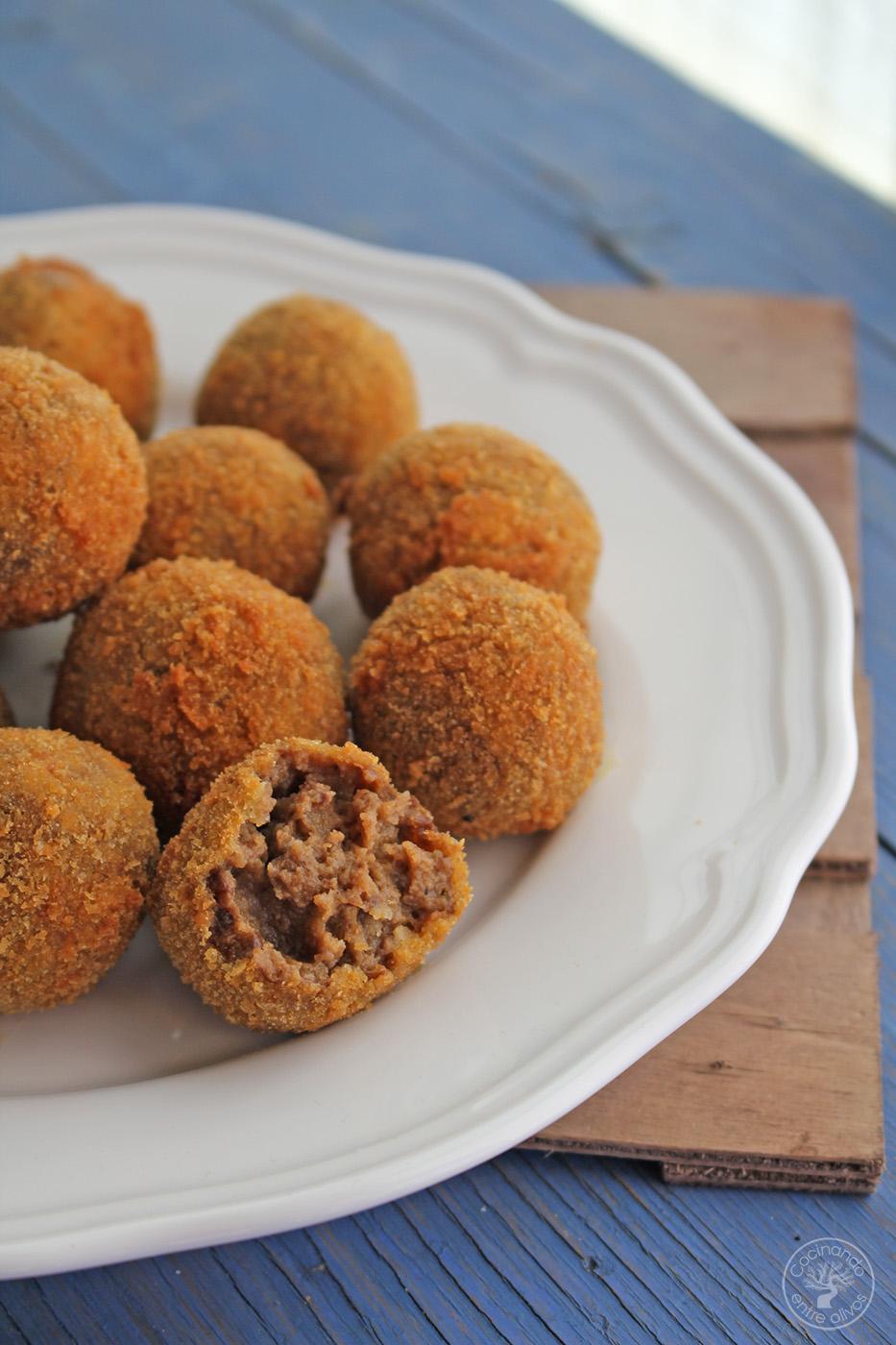 Cocinando Entre Olivos | Croquetas De Morcilla De Aove Receta Paso A Paso Cocinando