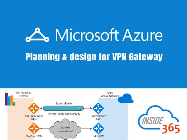 Vpn Gateway Azure