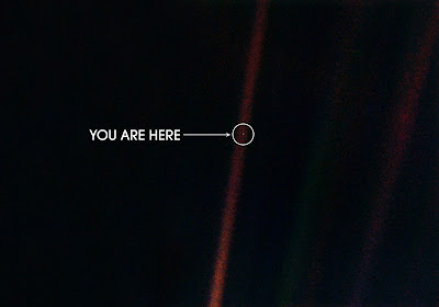 pale blue dot earth