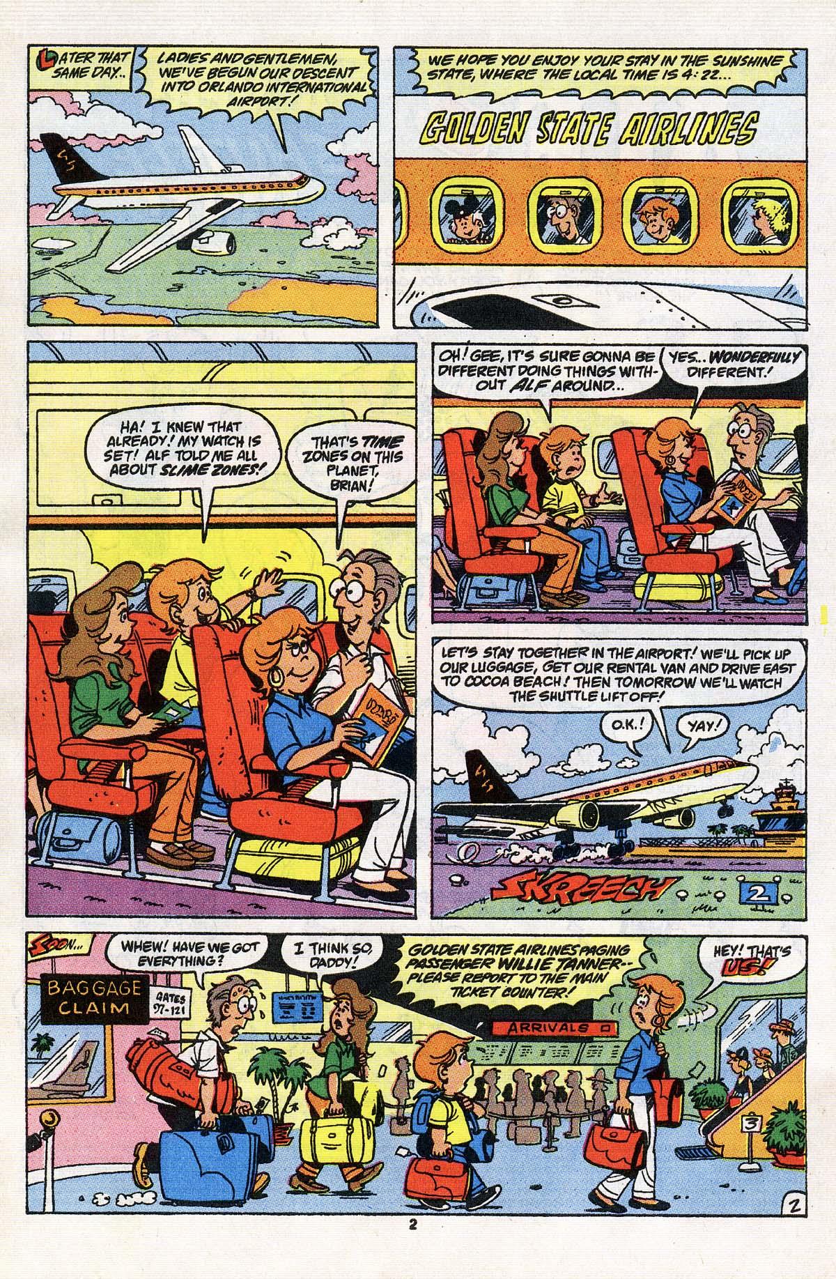 Read online ALF comic -  Issue # _Annual 3 - 3