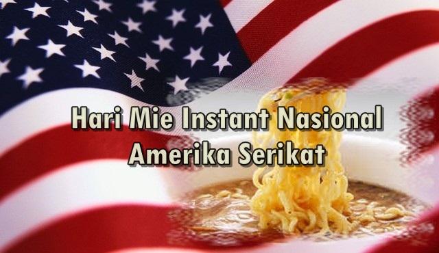 Hari Mie Instant Nasional Amerika Serikat