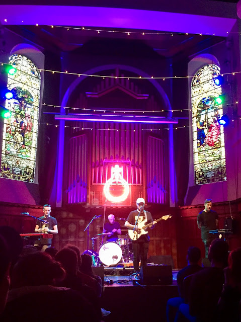 Deaf Havana release show for 'Rituals', in St Luke's Church, Glasgow