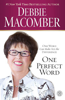 Book review of New York Times bestselling author Debbie Macomber's One Perfect Word.