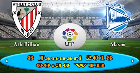 Prediksi Bola855 Athletic Bilbao vs Alaves 8 Januari 2018