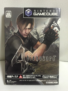 CAPCOM biohazard 4 Resident Evil with BOX Manual NINTENDO GAMECUBE JAPAN Version