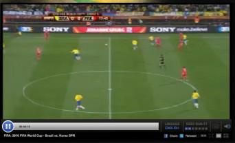 Stream de futebol