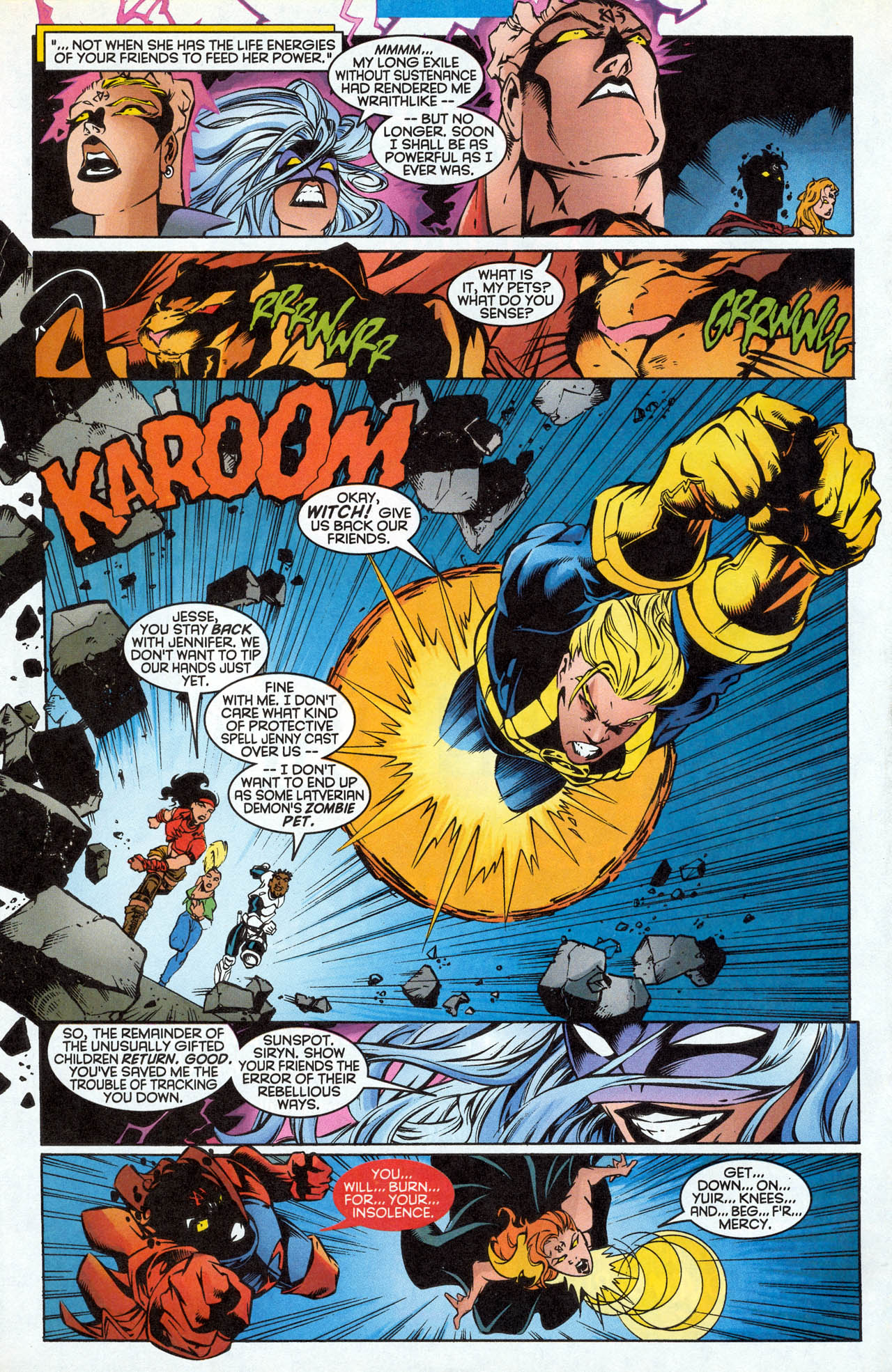 Read online X-Force (1991) comic -  Issue #85 - 30