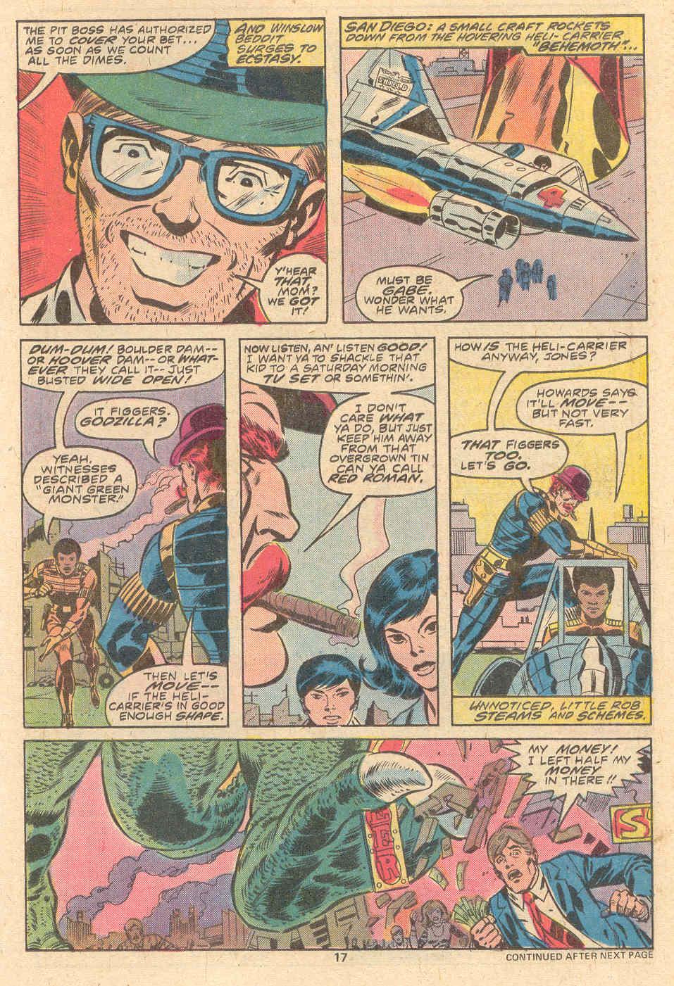 Godzilla (1977) Issue #9 #9 - English 12