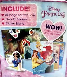 Disney Princess Mini Collector's Tin back