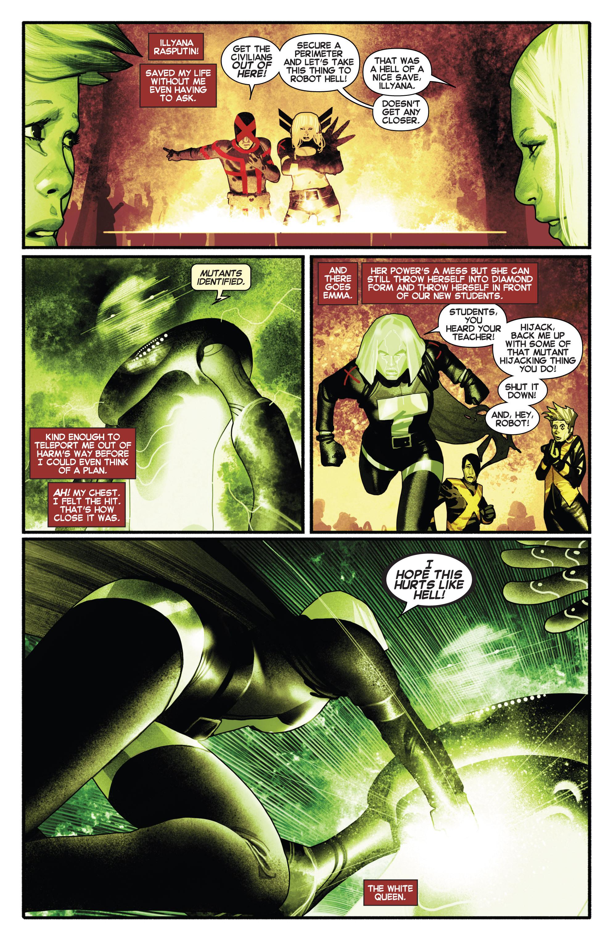 Read online Uncanny X-Men (2013) comic -  Issue # _TPB 2 - Broken - 100