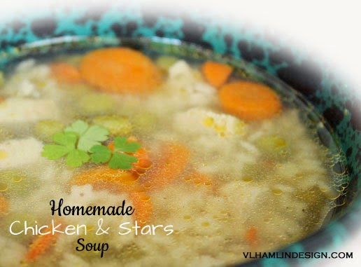 Homemade Chicken and Stars Soup Recipe