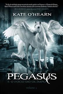 News: Capa de Pegasus e os novos Olimpicos, de Kate O'Hearn 9