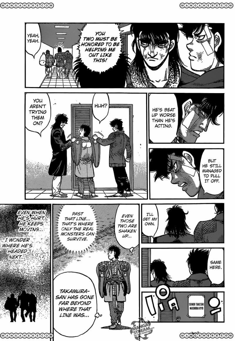 Hajime no Ippo - Chapter 1121