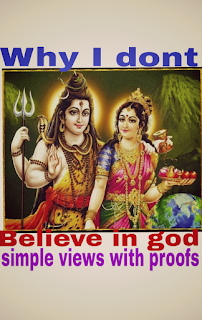 Not existence of god with 5 proofs