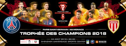 #TropheeDesChampions #PSG #ASM #Paris #Monaco #Tuchel #Jardim #Keita #Geubbels #Jovetic #Neymar #DiMaria...