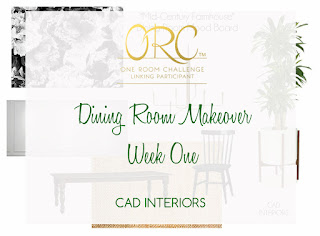orc dining room interior design decorating makeover mid century farmhouse