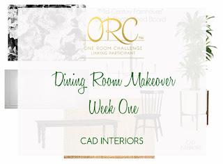 orc dining room interior design decorating makeover mid century farmhouse
