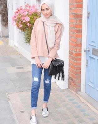 model hijab casual modis