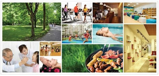 Tiện ích tại chung cư Eco Dream City