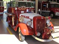 Primer camión de bomberos de la isla
