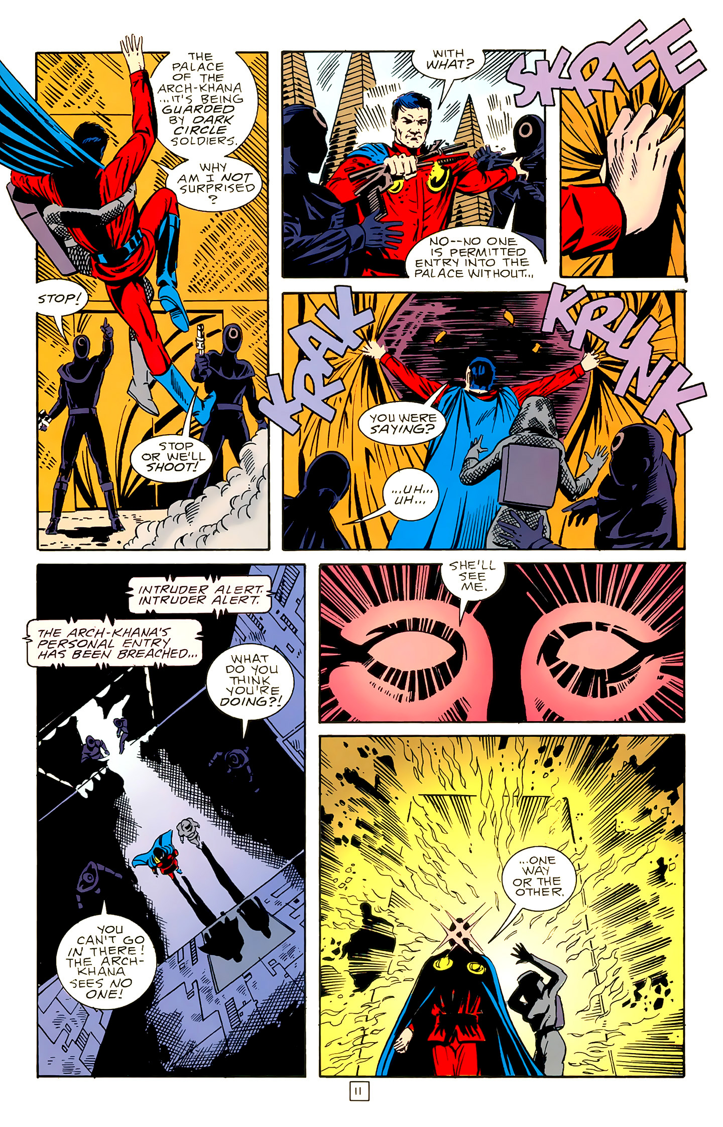 Legion of Super-Heroes (1989) 18 Page 11