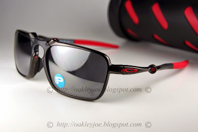 0de42990e4 OO6020-03 X Metal Badman dark carbon + ruby iridium polarized  560 lens pre  coated with Oakley hydrophobic nano solution complete set comes with box and  ...