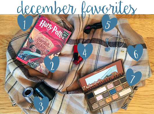 Via Sora: December Favorites: Missguided, Too Faced, and Harry Potter