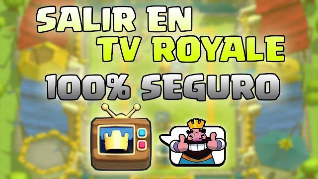 Consejos para salir en tv royale