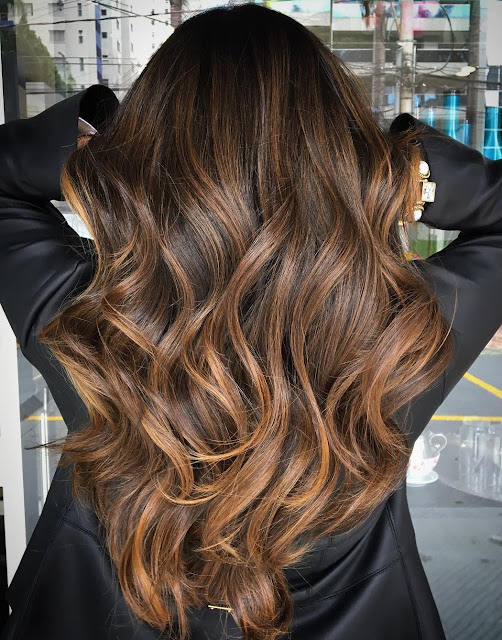 Balayage and highlights