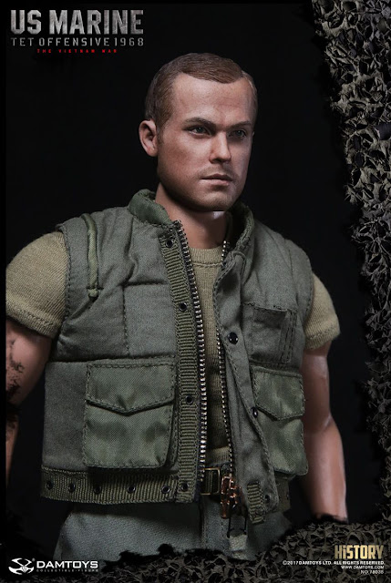"osw.zone Dam Toys History Series 1/6th scale Vietnam War U.S. Marine (Tet Offensive, 1968) 12"" figure"