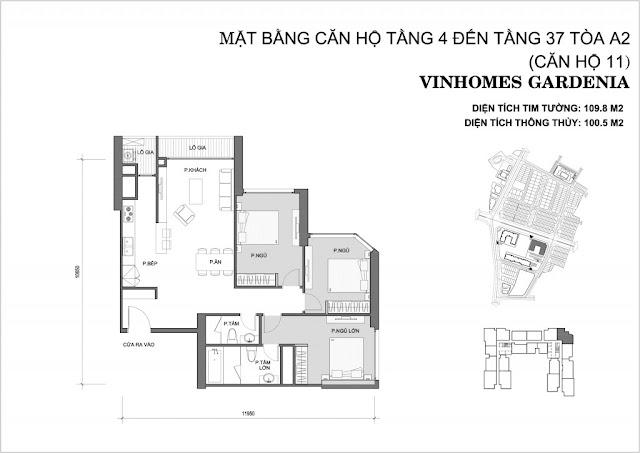 11 - Tòa A2 Vinhomes Gardenia