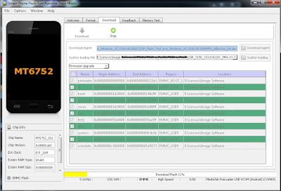 Tutorial Flashing Vivo Y3T bootloop