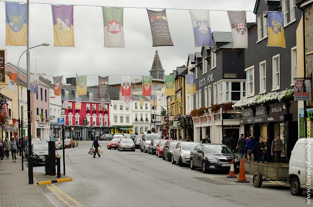 Calles Killarney Condado Kerry Irlanda