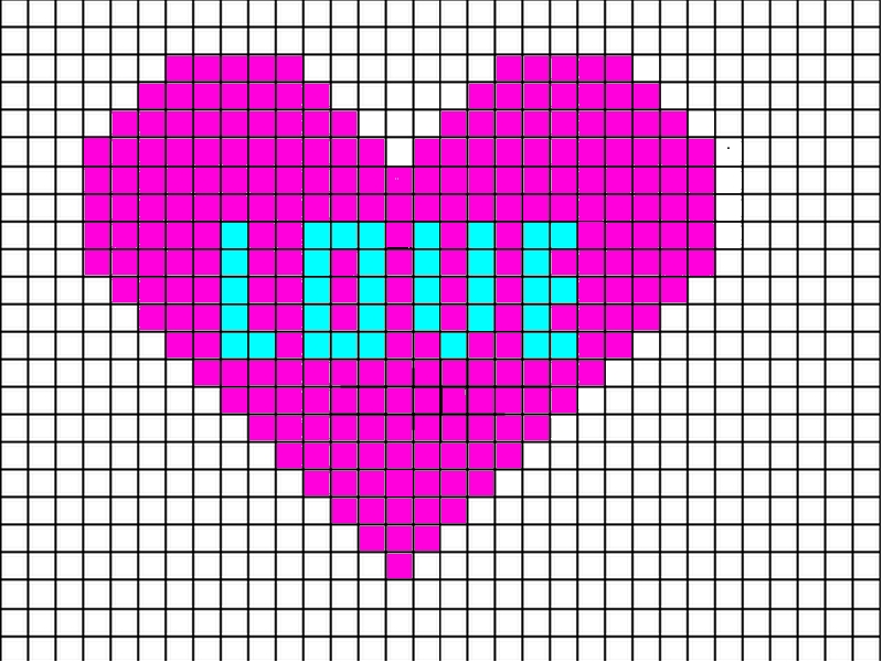 Pixel Art Facile Smiley