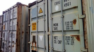 25 Containers For Terminal Rehabilitation That Are Rotting Away at Lagos Airport (Photos)