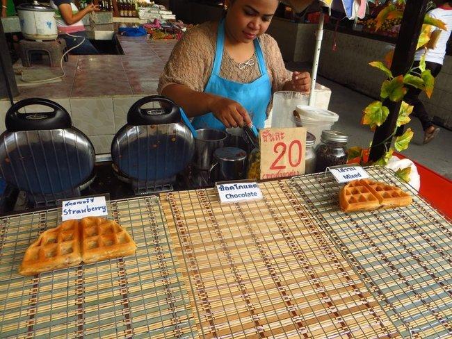 Венские вафли на Маенаме