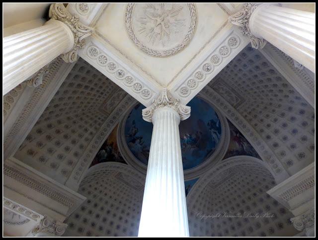 Chapelle Lycée Hoche Versailles Colonnes